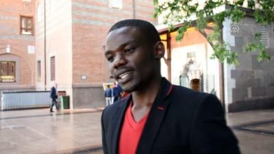 İslamiyeti Ruanda'da tanıyan Yasin, Türkiye'de Müslüman oldu - ANKARA