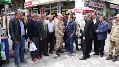 Jandarma Genel Komutanı Arif Çetin, Ağrı'da