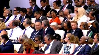 - Tiflis'te Gürcistan Cumhuriyetinin 100. Yıldönümü Törenine Bakan Canikli De Katıldı