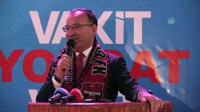 Bozdağ: 'Yozgat'ın tarihinde ilk defa Yozgatlı bir kadın milletvekili seçilme imkanına kavuşmuştur'  - YOZGAT