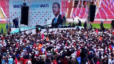 Cumhurbaşkanı Erdoğan: '(Muharrem İnce'nin iddiaları) Amerika'dan telefonla arayıp işletmişler' - BALIKESİR