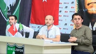 """Denizlispor Başkanı Üstek'in, Fatih Tekke yorumu - Başkan Mustafa Üstek: -""""Neticede bir karar vereceğiz kim takıma katkı verecekse ona göre yolumuza devam edeceğiz"""" Haberi"""