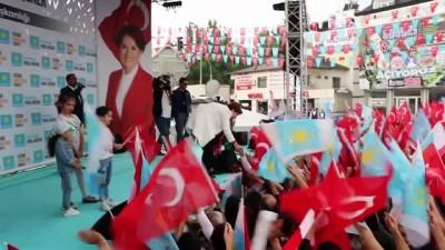 İYİ Parti Genel Başkanı ve cumhurbaşkanı adayı Akşener - DENİZLİ
