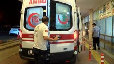 Şanlıurfa'da trafik kazası: 8 yaralı... Yaralı baba kendi acısını unutup çocuklarının derdine düştü