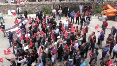 CHP'li adaylara Ardahan'da coşkulu karşılama