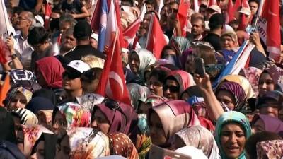 """Cumhurbaşkanı Erdoğan: """"Ey George, ey Hans; bizi yıkamayacaksınız"""""""