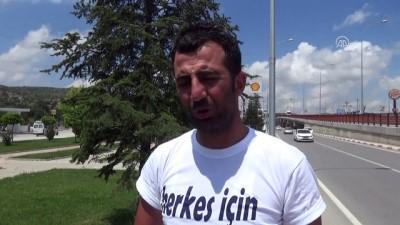 İşçilerin CHP Genel Merkezi'ne adalet yürüyüşü sürüyor - AFYONKARAHİSAR