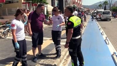 Marmaris'de trafik kazaları: 4 yaralı - MUĞLA