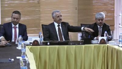Bakan Arslan: 'Projelerimiz dünya ticareti ve taşımacılığı için önemli' - KARS