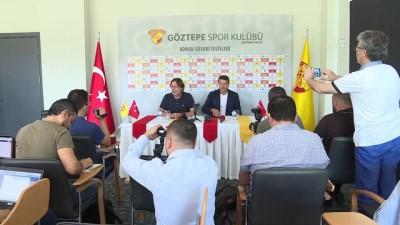 Göztepe'de Bayram Bektaş dönemi başladı - İZMİR