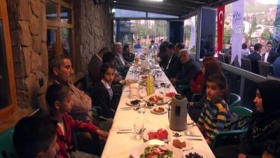 Hakkari'de şehit aileleri ve gaziler için iftar