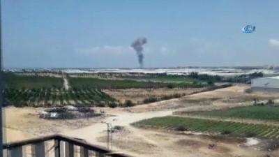 - İsrail, Gazze'ye Saldırdı
