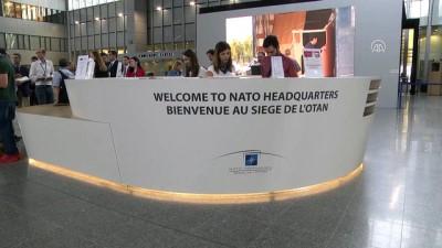 NATO yeni karargahının kapılarını AA'ya açtı - BRÜKSEL
