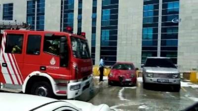 Anadolu Adalet Sarayı'nda yangın paniği