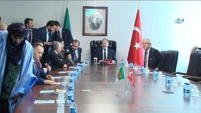 Başbakan Yardımcısı Recep Akdağ, Cezayi Meclis Başkanı Abdelhamid Si Afif ile görüştü