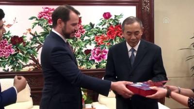 Enerji ve Tabii Kaynaklar Bakanı Albayrak Çin'de - PEKİN