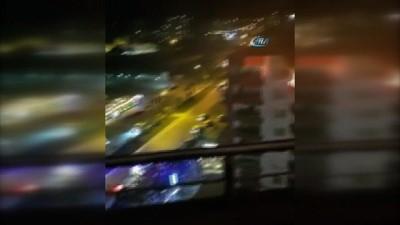 Gaz sıkışması sonucu tüp patladı ev alev alev böyle yandı: 1 yaralı