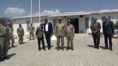 Jandarma Genel Komutanı Çetin, sınır hattında - GAZİANTEP