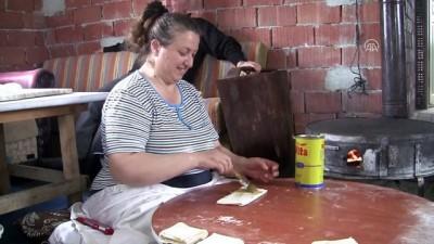 Köylü kadınların ramazan hazırlığı - DÜZCE