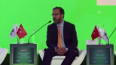 Uluslararası Futbol Ekonomi Forumu - Spor Toto Teşkilat Başkanı Kasapoğlu - İSTANBUL