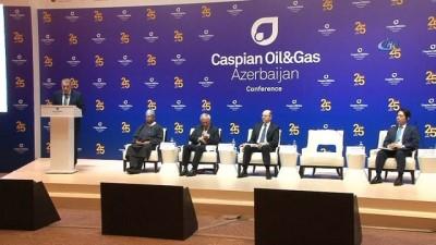 """- 25. Uluslararası Hazar Petrol Ve Gaz Konferansı Bakü'de Başladı - Azerbaycan Enerji Bakanı Şahbazov: - """"azerbaycan Petrol Piyasasının İstikrara Kavuşmasında Önemli Bir Rol Oynadı"""""""