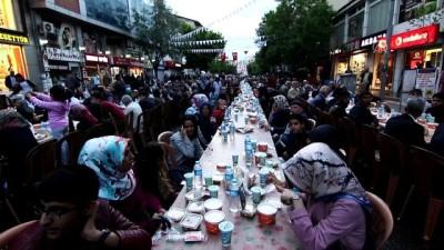 Bingöl'de, 6 bin kişi iftar açtı