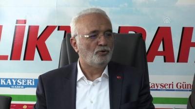 Elitaş: '(CHP'nin seçim ittifakı ile ilgili AYM'ye başvurusu) Tükürdüklerini yalamak zor gelir' - KAYSERİ
