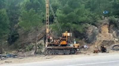 İskenderun Limanı'na daha kısa mesafeden ulaşımı sağlayacak 'Hassa Tüneli'nde sondaj çalışmasına başlandı