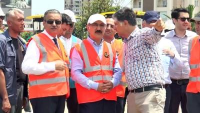 Kalkınma Bakanı Elvan, ulaşım yatırımlarını inceledi - MERSİN