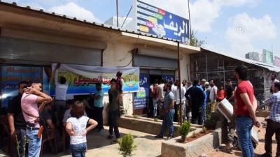 Suriyelilerin Türk lirasına desteği sürüyor - AZEZ