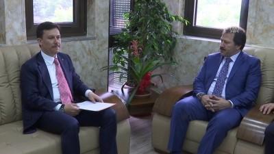 AK Partili Şahin'den Şoförler Odası'na ziyaret - ANKARA