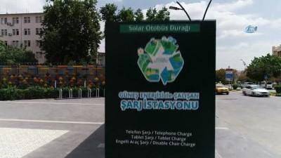 Gaziantep'te akıllı durak dönemi... Duraklar, elektrik enerjisini kendi üretecek