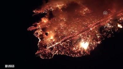 Hawaii'deki Kilauea Yanardağı'nın faaliyete geçmesi - HONOLULU