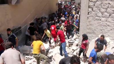 sivil savunma - Suriye'nin kuzeyinde patlamalar meydana geldi - ERİHA