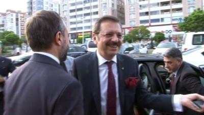 """TOBB Başkanı Hisarcıklıoğlu,:""""Elazığ'da müthiş bir potansiyel var"""""""
