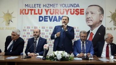 Bakan Eroğlu AK Parti Kütahya İl Başkanlığını ziyaret etti