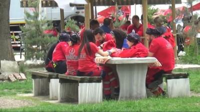 Bolu'da, 7'inci Ulusal UMKE tatbikatı başladı