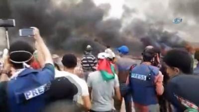 - Gazze'de büyük dönüş yürüyüşünde 40 Filistinli yaralandı