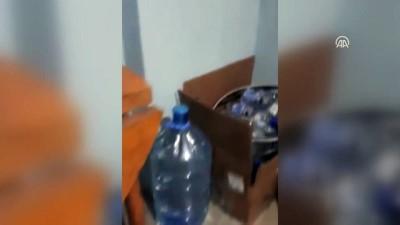 Kartal'da kaçak içki operasyonu - İSTANBUL