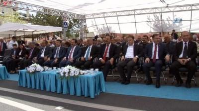 Sivas'ta DSİ kavşağı ve üst geçildi