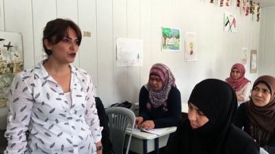 psikolojik destek - Suriyeli kadınlar çocuklarıyla Türkçe okuma yazma seferberliğine katıldı - HATAY
