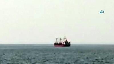 Yunan savaş gemisiyle çarpışan Türk gemisi Dikili açıklarında