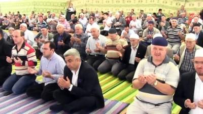 20 yıllık gelenek bu yıl da tekrarlandı... 5 bin Hisarcıklı 'Şükür Duası'nda
