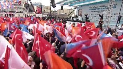 Başbakan Yıldırım: 'Millet öyle bir rüzgar estirdi ki bunların kurmaya çalıştığı çatı uçtu gitti' - KAYSERİ