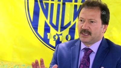 devre arasi - MKE Ankaragücü Kulübü Başkanı Yiğiner: '5,5 yılda 5 genel kurul yaptık, 6.sını da yaparız' - ANKARA