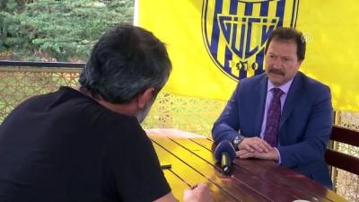 devre arasi - MKE Ankaragücü Kulübü Başkanı Yiğiner: 'Zor değil zorun zorunu başardık' - ANKARA