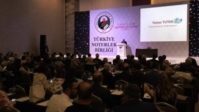 """- Türkiye Noterler Birliği Üyeleri KKTC'de Buluştu - Noterler Birliği Başkanı Tutar: - 'Noterler Hukuk Sisteminin İşleyişinde Olmazsa Olmaz Bir Yere Sahiptir"""""""