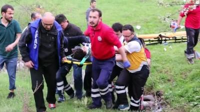 Yangına giden itfaiye kaza yaptı: 1 şehit, 1 yaralı - BOLU