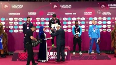 Avrupa Güreş Şampiyonası - Milli Güreşçi Demirtaş altın madalya kazandı (2) - KASPİYSK