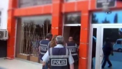Burdur'daki masaj ve güzellik salonlarına eş zamanlı fuhuş baskını: 7 gözaltı